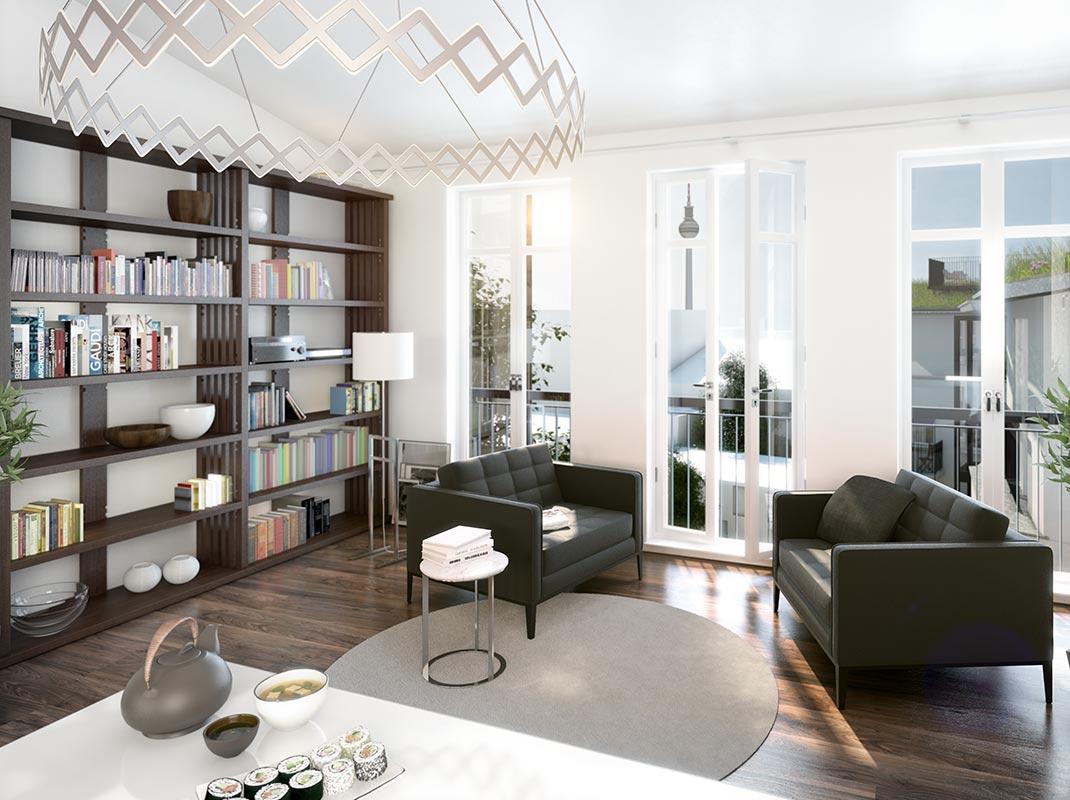 eigentumswohnungen berlin mitte schlegelstra e 5 vandenberg berlin. Black Bedroom Furniture Sets. Home Design Ideas